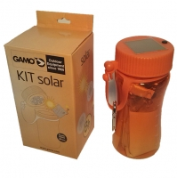 KIT DE SUPERVIVNCIA CON LINTERNA SOLAR