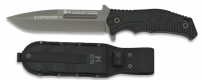 Tactical knife CHINOOK I negro. H:14